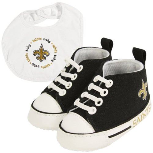 New Orleans Saints NFL Infant Bib and Shoe Gift Set at Amazon.com