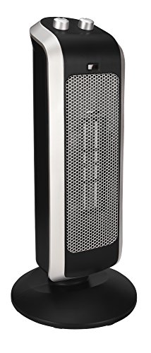 Crane - Ceramic Tower Heater - Black (Crane Electric Heater compare prices)