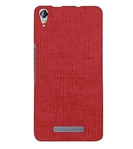 PrintVisa Red Pattern 3D Hard Polycarbonate Designer Back Case Cover for Micromax Juice 3 Plus