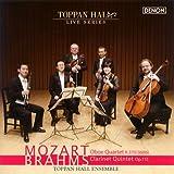 モーツァルト:オーボエ四重奏曲|ブラームス:クラリネット五重奏曲