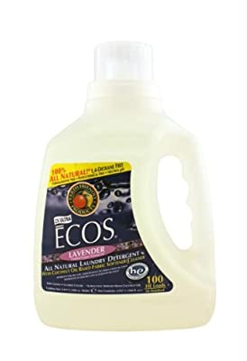 Earth Friendly 2x Ultra Ecos All Natural Laundry Detergent Lavender - 100 Ounce