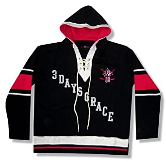 Three Days Grace - Soft Striped Hockey Jersey by Satisfashion