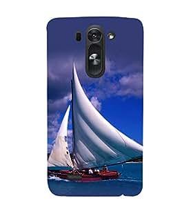 printtech Water Ship Sailing Back Case Cover for LG G3 Beat::LG G3 Vigor::LG G3s::LG g3s Dual