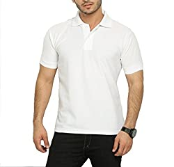 Willmore Men's Cotton Polo (SDL260247715 _White_X-Large)
