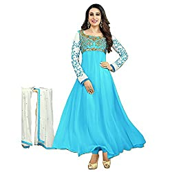 Matindra Enterprise Good Quality of Karishma Blue Georgette Materials