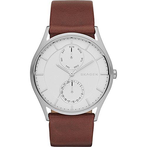 skagen-mens-skw6176-holst-dark-brown-leather-watch