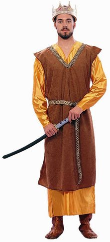 Adult Men's Medieval King Halloween Costume