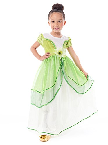 Traditional Lily Pad Princess Girls Costume