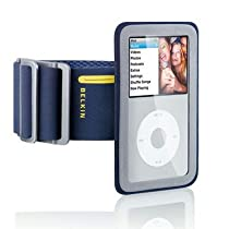 Belkin Sport Armband Plus for 80/120 GB iPod classic 6G (Midnight Blue)