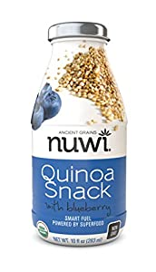 NUWI Quinoa Drinkable Snack - Blueberry 6 pack