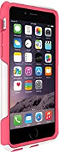 OtterBox COMMUTER iPhone 6/6s Case - Frustration-Free Packaging - NEON ROSE (WHISPER WHITE/BLAZE PINK)