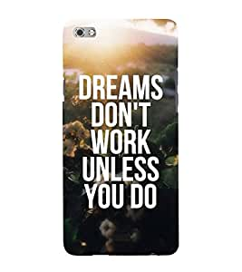Life Quote 3D Hard Polycarbonate Designer Back Case Cover for Micromax Canvas Sliver 5 Q450