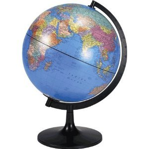 Political 11-in. Tabletop Globe
