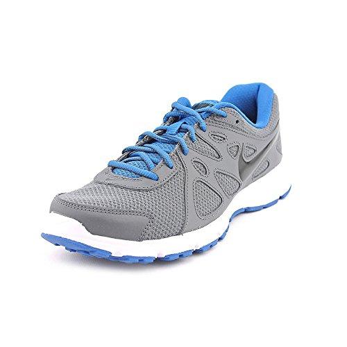 Nike Men's Revolution 2 Dark Grey/Black/Mltry Bl/White Running Shoe 11.5 Men US