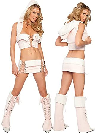 Lil Pink Indian - Women's Indian Sexy Halloween Costumes