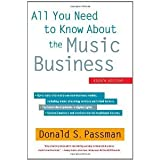 img - for All You Need to Know About the Music Business: Eighth Edition [Hardcover] [2012] 8 Ed. Donald S. Passman book / textbook / text book