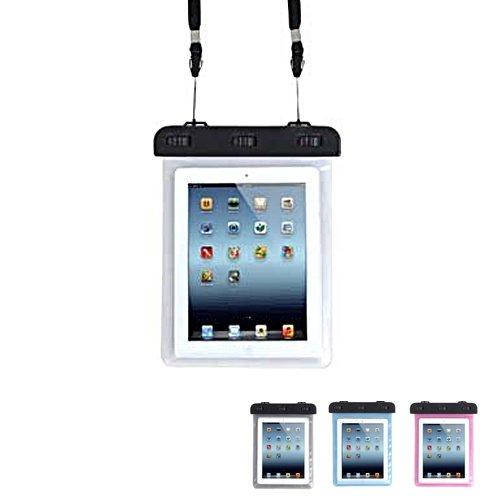 TaoTech 防水ケース iPad Mini Nexus7 AQUOS PAD Lenovo IdeaTab など タブレット 用 8インチ まで 対応 防水保護 等級 IPX8 取得 ストラップ付