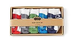 Mud Pie Baby Boy Boxed Sneaker Socks Set