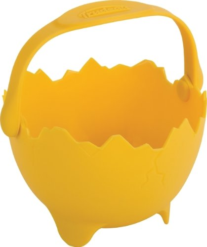 Trudeau Silicone Egg Poacher With Handle