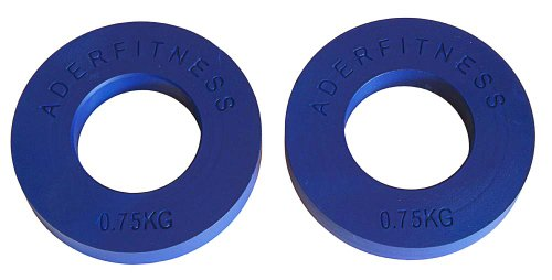 Ader-Olympic-Fractional-Plates-Pair-75-Kg-Blue