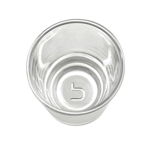 Blomus Blend, Bicchieri per te', Set da 6, Vetro Trasparente, 100ml, Ø6,5 cm, 63572