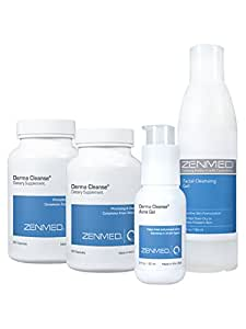 ZENMED Derma Cleanse System - The Best All Natural Acne Treatment and Prevention