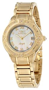 Invicta Women's 12807 Angel Mother-Of-Pearl Dial Diamond Accented Watch