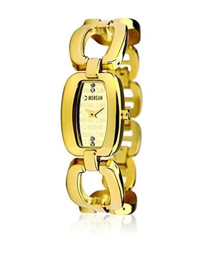 Morgan de Toi Reloj de cuarzo Woman M1021G Dorado 18 mm