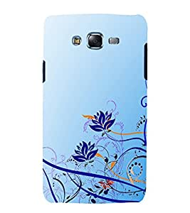 printtech Floral Abstract Back Case Cover for Samsung Galaxy Grand Max G720