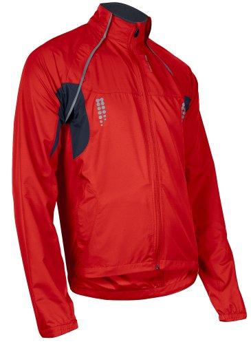 Sugoi Men's Versa Jacket (Chili Red, Medium)