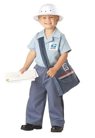 Mr. Postman Toddler Costume , Medium, One Color