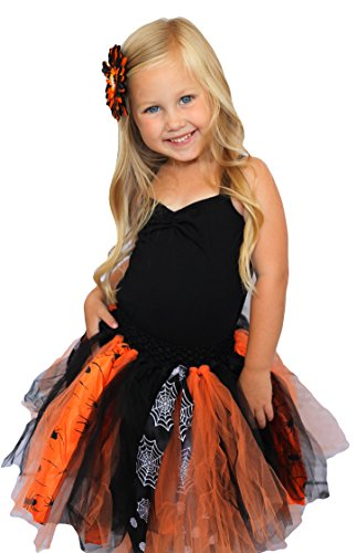 Hairbows Unlimited Halloween Fairy Shredded Chiffon Tulle Tutu