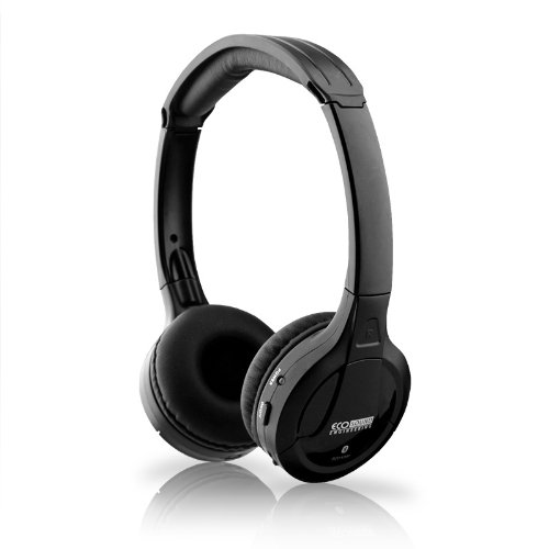 Black Wireless Bluetooth Version 3.0 True Stereo Sound Headphones Headset For Lg Optimus L70