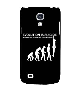 EPICCASE Evolution case Mobile Back Case Cover For Samsung Galaxy S4 (Designer Case)