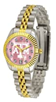 Texas A & M Aggies Executive Ladies Watch with Mother of Pearl Dial