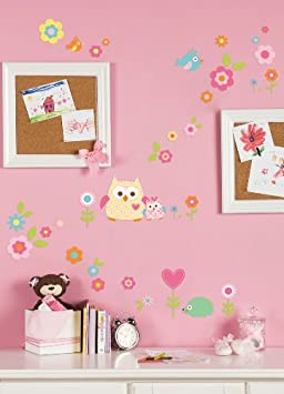 Fresh Kids Line Dena Happi Tree Wall Decals Pink