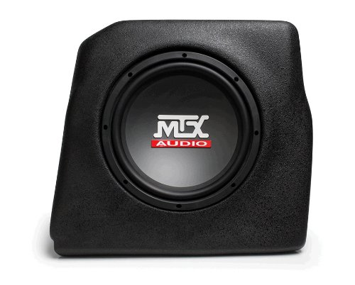 "Amplified Ford Escape Custom Thunderform Subwoofer Enclosure By Mtx Loaded W 10"" Sub 2008-Up"
