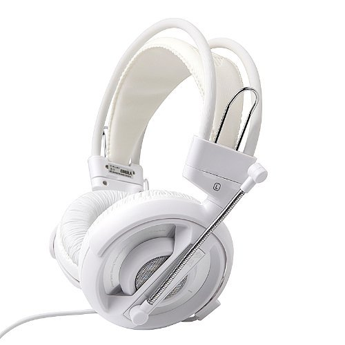 White E-3Lue E-Blue Cobra Gaming Headset Headphone Earphones With Microphone Mic