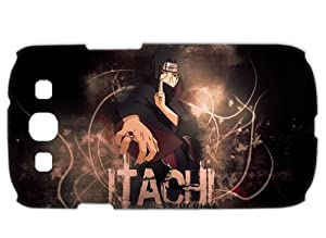 Treasure Design Naruto Itachi Funny Samsung Galaxy S3 I9300 3d Durable Hard cover Case