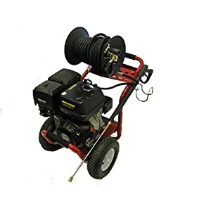 4000 psi power deluxe pressure washer with - Power washer garden hose attachment ...