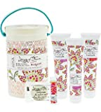 Library of Flowers Field Kit: Bath Goods Sampling Kit (Honeycomb)
