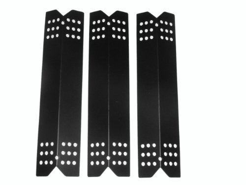 Set of 3 Replacement Stainless Steel Heat Plates for Select Grill Master and Uberhaus Gas Grill Models