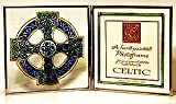 Decorative Hand Painted Glass Picture Frame in a Celtic Cross Design. Celtic Glass Designs presents Winged Heart's stunning hand painted glass giftware. These significant and expressive gifts are ideal for Valentine's Day, Mother's Day, Easter, Christmas