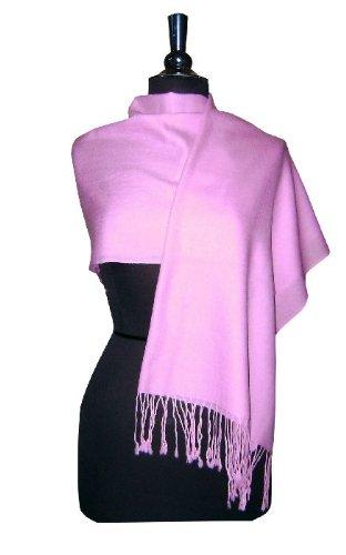 Private Island Solid Light Purple Pashmina Shawl, Soft Scarf, Wrap at Sears.com