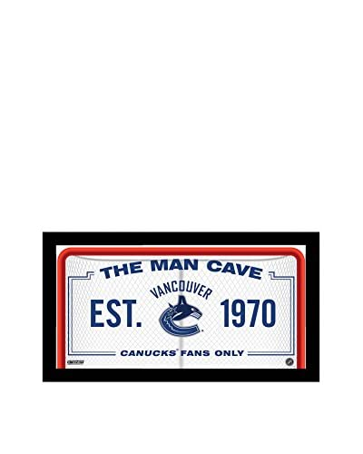 Steiner Sports Memorabilia Vancouver Canucks Man Cave Sign, 10 x 20