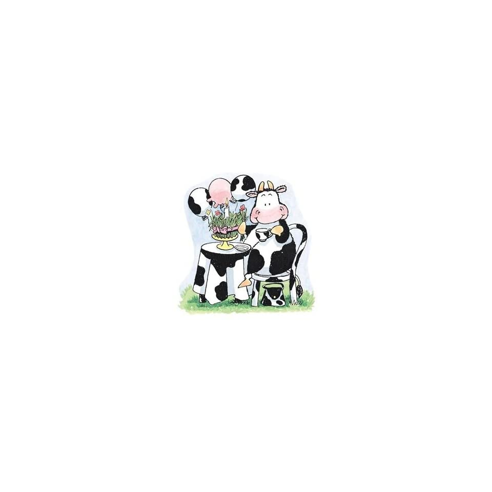 Penny Black Rubber Stamp 3.5X3.5 Grass Cake