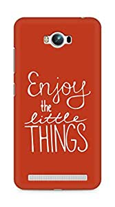 AMEZ enjoy the little things Back Cover For Asus Zenfone Max ZC550KL