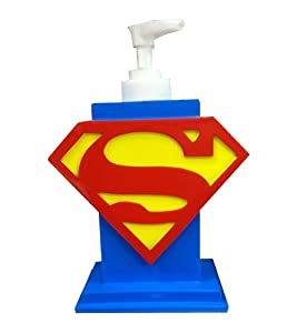 Justice League Superman Soap Dispenser