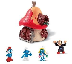Schleich Smurfs Large House, 5-Piece Set
