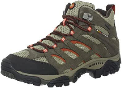 Buy Merrell Ladies Moab Mid Waterproof Hiking Boot by Merrell